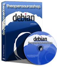 Debian Linux 8.8.0 (Jessie) Live Bootable DVD + Free Random Retro Linux CD