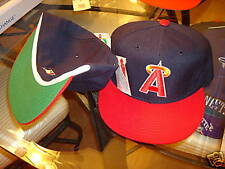 CALIFORNIA ANGELS hat cap 1990'S FITTED 7 3/8 VINTAGE