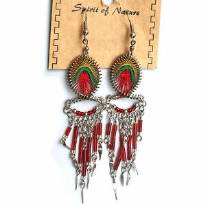 Empress Royalty Jamaica Rasta Irie Earring Set Reggae Jamaica Earrings NEW