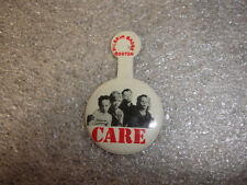 Old Vtg Collectible CARE Kids Pin Children with White Background Pilgrim Badge