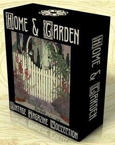 HOME, GARDEN, INTERIOR DESIGN, 276 Vintage Magazines on DVD HOUSE & GARDEN