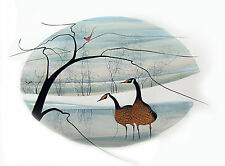 P. Buckley Moss Print - Winter's Peace