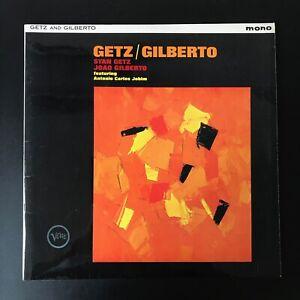 GETZ & GILBERTO The Girl from Ipanema VLP 9065 UK ORIGINAL 1964 MONO VINYL LP