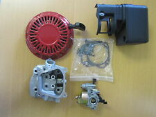 Motor Parts For Honda GX160 Generator Pumps Tillers -- Cyl. Head, Carb, ETC.