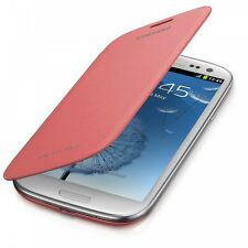Etui Flip Cover Rosé Pour Samsung Galaxy S3 i9300