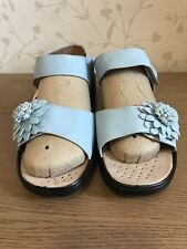 Size 8 Cushion Walk Women's Ladies Summer New Shoes Velcro fastening AST