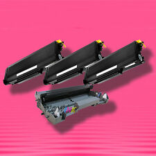 4P TONER+DRUM for Brother TN-650 TN650 DR-620 DR620 MFC-8480DN MFC-8680DN