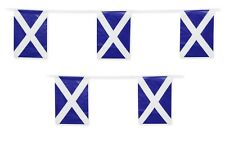Scotland Flag Bunting Scottish Rugby Football Banner St Andrews Decoration 10m