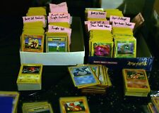 Original Vintage Pokemon 150 Cards LOT 1st Edition Base Set NM+ Holo Rare ETC