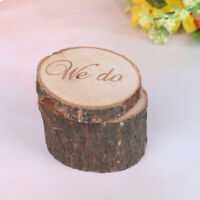 Rustic Wedding Ring Box Wedding Decor Customized Gifts Wooden ring holder  Rf