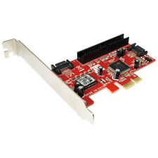 LogiLink PC0003A PCI Express Schnittstellenkarte SATA 2x + IDE 1x bis 2.5GB/s