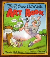 The Robert R. Crumb Coffee Table Art Book 1998 Softcover Mr. Natural Color NEW