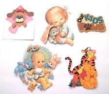 3D UPick Love Baby Girl Boy Kitten Puppy Pooh  Couple Cupid Paper Embellishment
