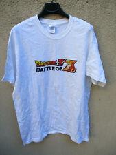 T-shirt DRAGON BALL Z BATTLE OF Z 2013 coton jersey blanc L manga collection