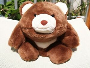 "VINTAGE GUND - CHOCOLATE BROWN SNUFFLES BEAR - #2155 - 13"" -1980 - VERY NICE"