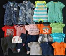 Baby Boy Size Newborn 0/3 Months Summer Clothes Outfits Lot!