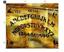 "Antique Ouija Board Fabric Panel 20.5"" x 18"" Cotton"