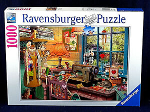 RavensBurger Jigsaw Puzzle - Sewing Shed - 1000 Pieces - #198924