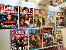 Starburst Magazine Lot Of 9 Star Trek Special Issues VG
