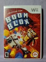 Boom Blox Video Game (Nintendo Wii, 2008, EA Games) Complete with Manual