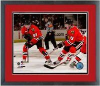 "Patrick Kane & Jonathan Toews Chicago Blackhawks Photo (12.5"" x 15.5"") Framed"