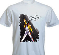 Queen Freddie Mercury Tribute Painting Pic T Shirt Crest Forever QUEEN