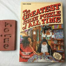 The Greatest Jigsaw Puzzle of All Time First Episode Time Pieces Double Sided
