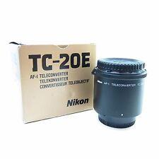 Nikon Tc TC-20E Mk I AF-I Lente Af-s Teleconverter-Bb -