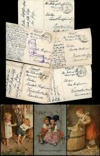 Printed Collectable Children Postcard Collections/Bulk Lots