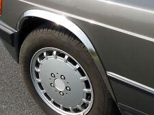 Wheel arches MERCEDES W210 E kl saloon estate 2 pieces fender trim chrome, ms