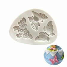 Silicone Butterfly Chocolate Fondant Cake Cookie Sugarcraft DIY Clay Resin Mould