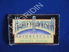 1993 Harley Davidson sportster touring softail dyna fatboy ultra  owners manual