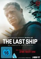 ERIC/MITRA,RHONA/BALDWIN,ADAM DANE - THE LAST SHIP-STAFFEL 1 3 DVD NEU