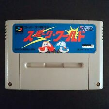 SPARK WORLD Nintendo Super Famicom NTSC JAPAN・❀・BOMBER CAR SFC スパーク・ワールド