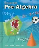 Pre-algebra, Grades 7-8: Mcdougal Littell Middle School Math, , Good Book