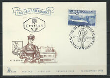 Autriche - Journée du timbre FDC 6/12/1958