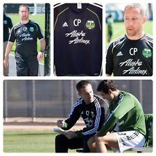 Adidas Portland Timbers Team Caleb Porter Player Issued MLS Training Pullover M