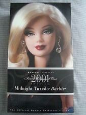 Midnight Tuxedo Barbie - New in Box - Member's Choice 2001