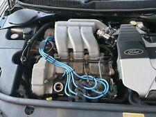 LIGHT BLUE 8MM PERFORMANCE IGNITION LEADS FOR THE MONDEO ST220 MKIII 3.0i V6 24V