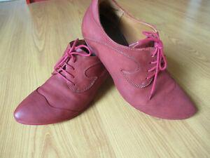 Schuhe Hochfrontpumps Pumps in rot  Think Größe 37