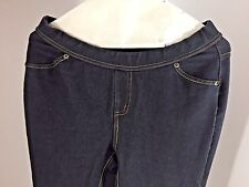 Ladies Juniors Womens Size LG Jean Look Jegging Pull On Beals Department Store