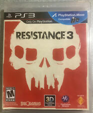 Resistance 3 (Sony PlayStation 3, 2011) black label new sealed ps3