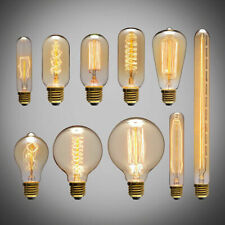 E27 Edison Vintage Licht Lampe Filament Nostalgie Glühbirne Retro Bulb Warmweiß
