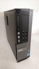 Dell Optiplex 9010 SFF Desktop PC Core i5-3470 3.2GHz 4GB RAM 1TB HDD Win 10 Pro