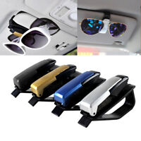 1PCS Car Vehicle Accessory Sun Visor Eye Glasses Sunglasses Card Pen Clip Holder