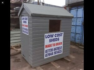 Low Cost Timber Sheds