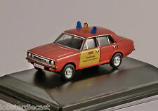MORRIS MARINA Heathrow Fire Service - 1/76 scale model OXFORD DIECAST