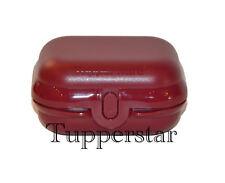 """Tupperware Mini Twin Box """"Dunkel Rot"""""""