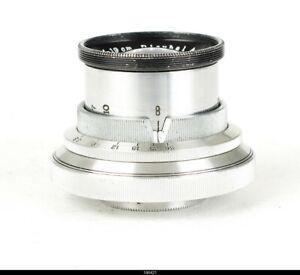 * Lens  Plaubel Makina Tele-Makinar 19cm f/6.3