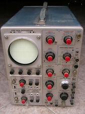 Oscilloscope à lampes double trace TEKTRONIX TYPE 545B vintage 1965 en panne